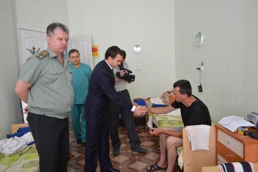 Губернатор о раненых бойцах: Пораженный их силой духа и боевым настроением!