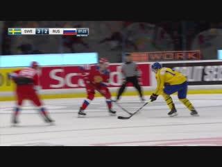 Шведские игры-2019. Швеция - Россия. Обзор матча