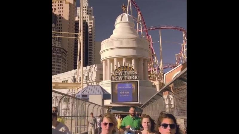 Путешествуя по Соединенным Штатам, не забудьте посетить Лас - Вегас😄 Город - сказка 👍 Просто чудо 😉 Las Vegas, Nevada, United S