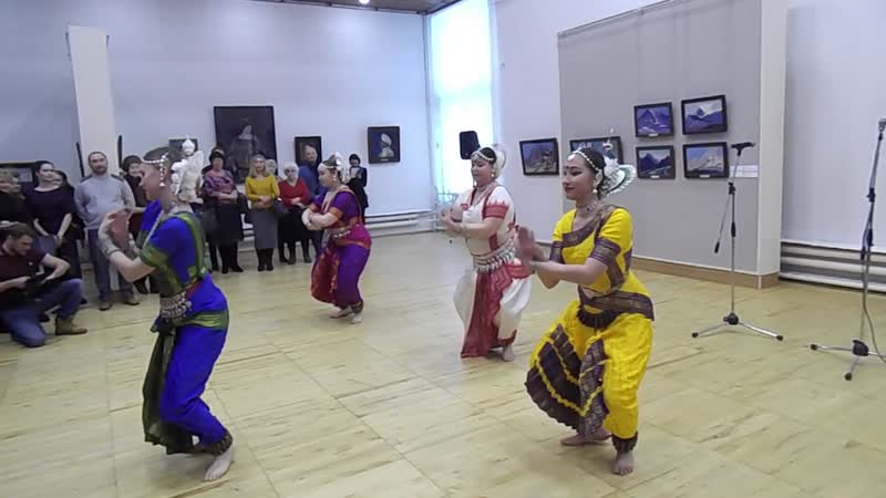 ХАРИ ОМ ансамбль индийского танца Зиндеги творч. центра САФУ