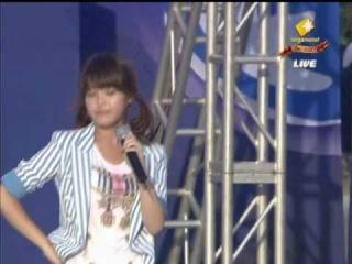 100807 IU (아이유) - Marshmallow + You Know at Shinhan Bank Pro League Final