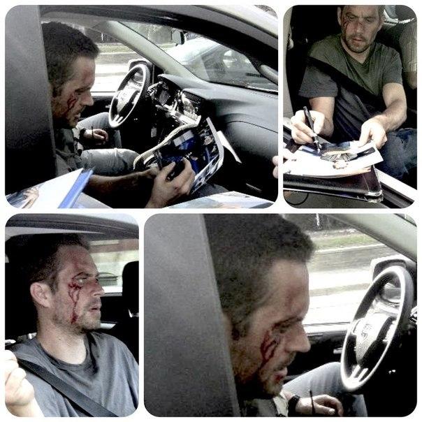 Пол уокер авария фото лицо