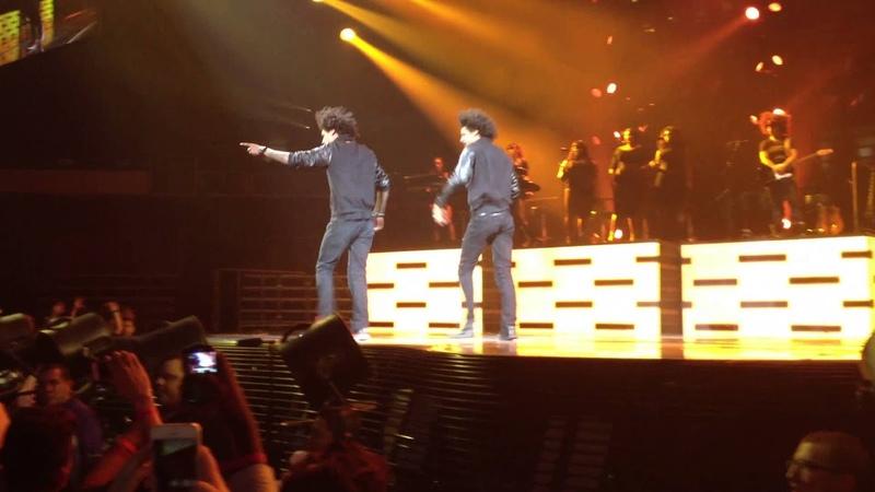 LES TWINS Solo At Beyonce's The Mrs. Carter Show World Tour - Phoenix, AZ