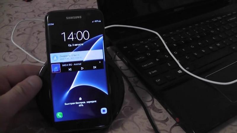 Быстрая Беспроводная зарядка для телефона Samsung Galaxy S7 Edge S7 S6 Edge