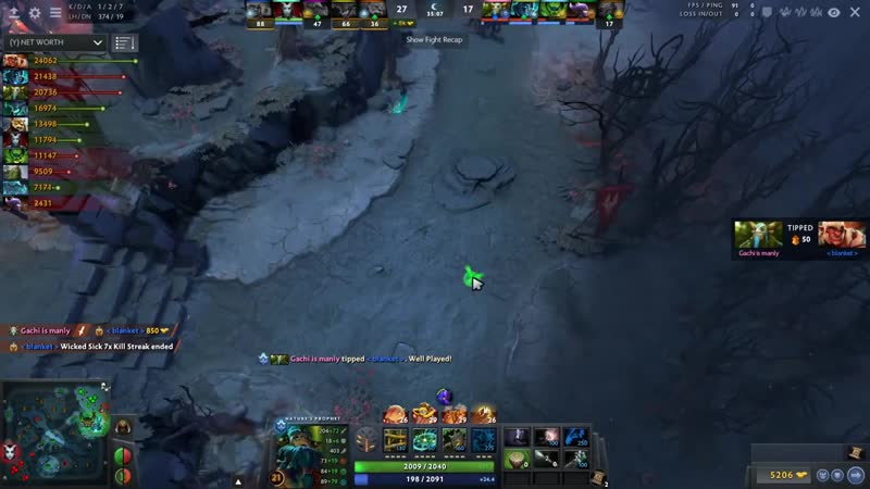 S4 Brewmaster, Gorgc Troll Warlord vs Bulldog Natures Prophet Battle A One of A
