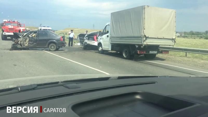 В автокатастрофе с автобусом погиб мужчина