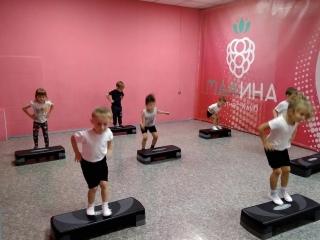 Акробатика (младшая группа) д/с 35. Тренер Наумов В.В.