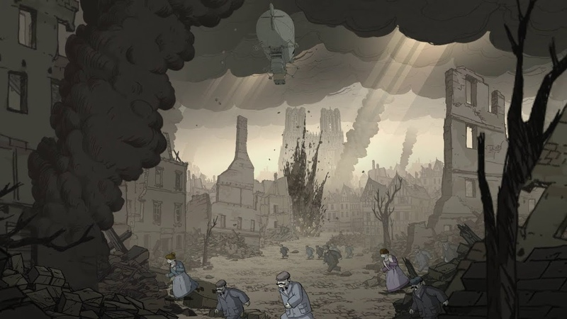 Valiant Hearts The Great War 6 Настигли неуловимого Барона Фон Дорфа