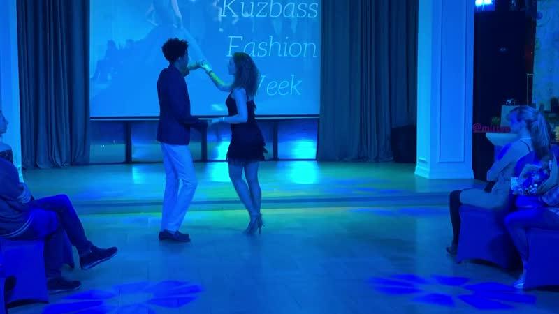 Танцевальная студия Ла Игуана на ежегодном празднике красоты и моды Кuzbass_fashion_week