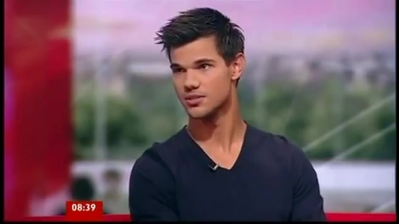 Taylor Lautner BBC Breakfast Interview 26 Sept 11