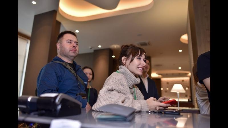Блог-тур к корпоративному клиенту компании «МегаФон» - отель Hilton Garden Inn Orenburg, видео Орен1