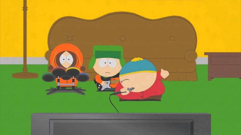 Картман feat Кенни Кайл Poker face South Park edit