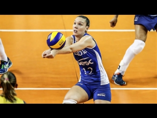 Roberta Ratzke BEST Volleyball SETTER from BRAZIL - TOP SETS
