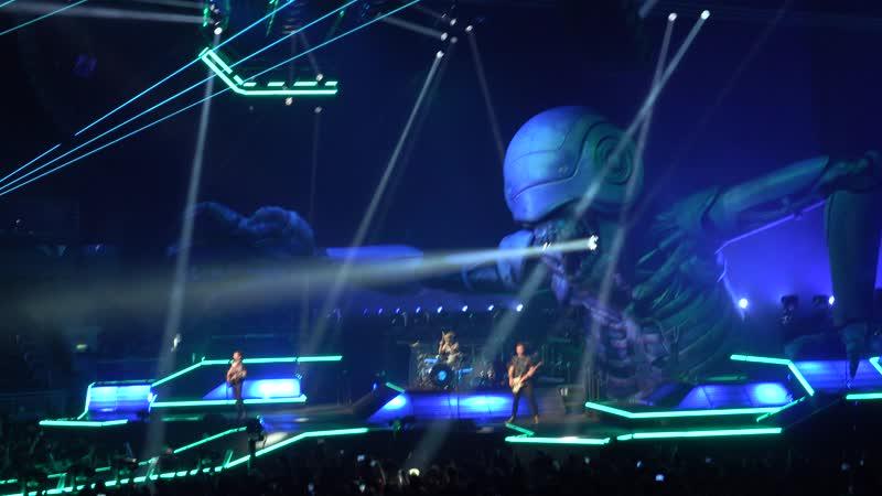 Muse - Stockholm SyndromeAssassinReapersThe Handler live at Riga 2019