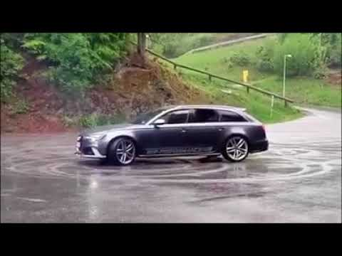 Audi RS6 drift fail