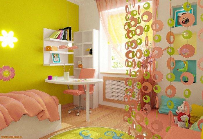 Идеи для детской комнаты для девочек своими