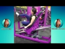 SARAH ANTONINI _ Lower Body Workout - Glutes, Quads Hamstrings PART 1 @USA- Be