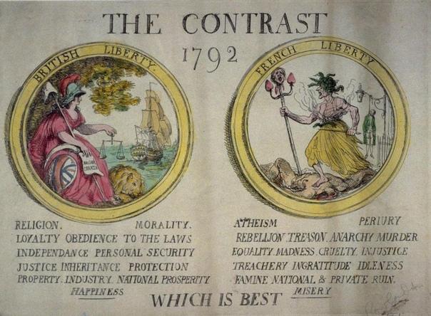 Классика политической рекламы. 1792 год. Британская библиотека.