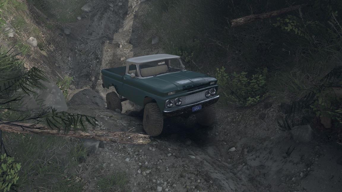 SID 66 Chevy Custom 1.0 для Spintires - Скриншот 3