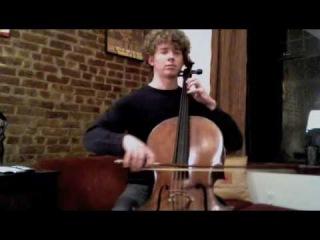 POPPER PROJECT #1: Joshua Roman plays Etude #1 for cello by David Popper