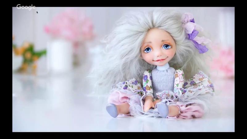 Мастер класс лепка куклы. Оксана Сальникова презентация