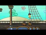 Игры ГубкаБоб на пиратском корабле (Games Hunt for Spongebob)