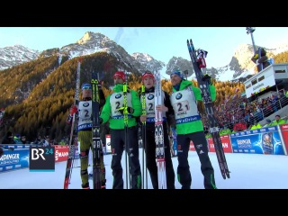 Antholz-2017. First victory in mens's relay this winter for Team Germany