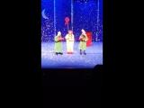 Снежное шоу Славы Полунина(сценка