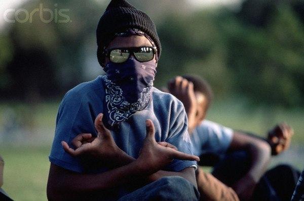 bloods фото банды