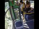 Появилось видео из автобуса без водителя, сбившего мать с ребенком в Алматы