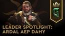 Leader Spotlight Ardal aep Dahy