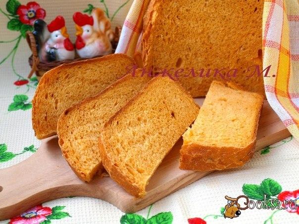 Хлеб с луком и паприкой в хлебопечке