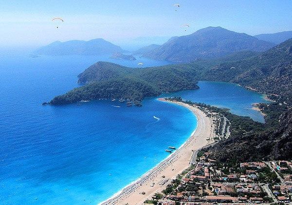 Олюдениз, Фетхие. Топ-5 лучших песчаных пляжей Турции