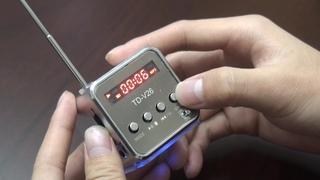 Mini Speaker Micro SD TF Card USB Disk MP3 Music Player Amplifier FM Radio