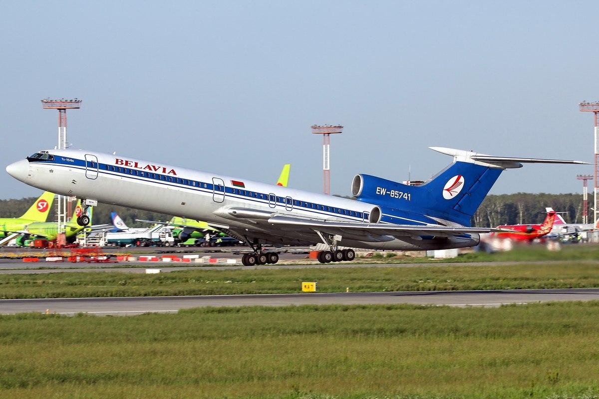 Самолет Москва-Минск