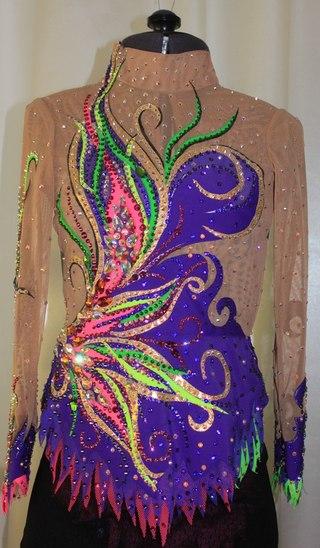 Бальное детское платье 011-322