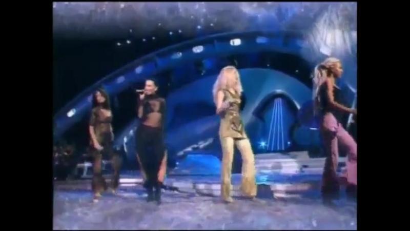 Блестящие - Белым Снегом (Песня Года 2001 Финал)