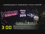 Olya Sabanina RoadHouse Flair Grand Final