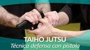 TAIHO JUTSU 14 sistema japonés defensa personal policial Técnica de defensa con pistola