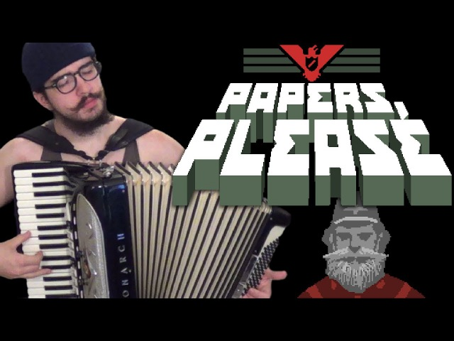 Theme (Papers, Please) [accordion cover]