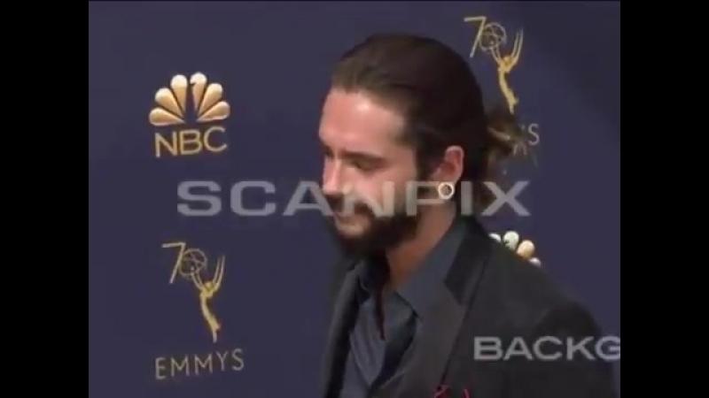 New video of Tom Heidi 17 09 2018 70th Primetime Emmy Awards Arrivals Los Angeles USA tokiohotel tomkaulitz heidiklum