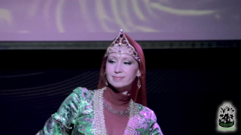 Светлана Куркова в роли Феи Цветущей Страны Анвар Сказки Волшебной Шкатулки