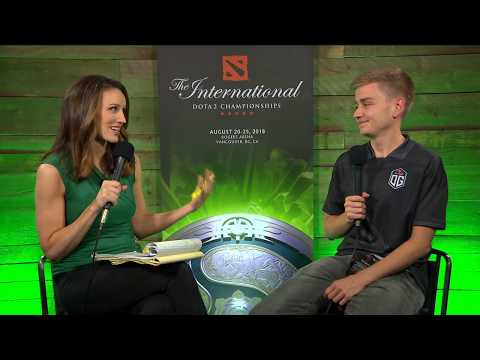 Interview from Notail | TI8 - OG vs VGJ.S