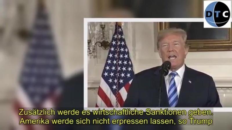 Trump- USA steigen aus Atomabkommen mit dem Iran aus