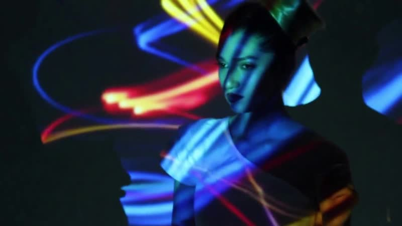Photo shoots with a projector