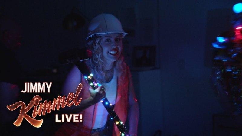 Miley Cyrus Pranks Jimmy Kimmel