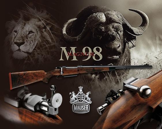 Огнестрельное оружие США 2 серия Винтовка Mauzer
