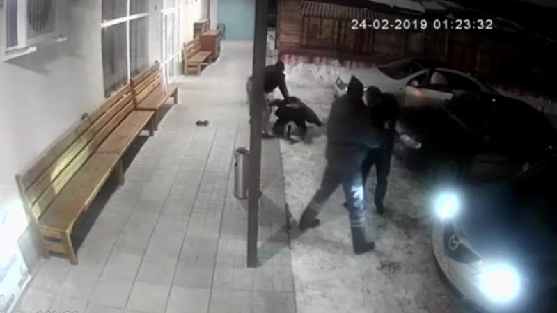 Избиение у кафе Bellissimo на Пролетарской