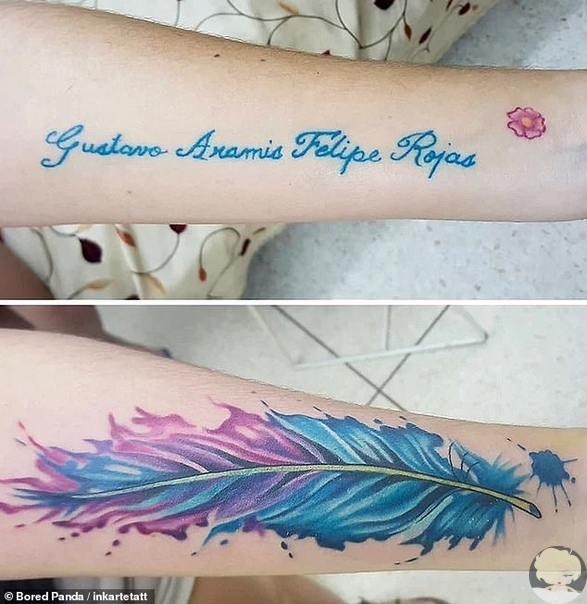 Джонни Депп несколько раз переделывал татуировки, сделанные в честь своих возлюбленных