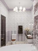 #zolotoe_sechenie68 🔸Дизайн интерьера🔸архитектура🔸ландшафт🔸  .  Ванная комната - 5,5 м2.  Столь редк